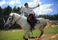 Чемпионат по конной стрельбе из лука